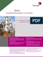 Evaporadores de pelicula descendente o ascendente, Fives cail..pdf