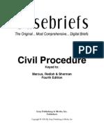 Civil Procedure-eCasebriefs
