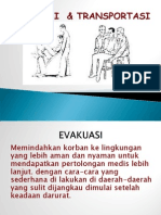 Evakuasi (Transportasi Dan Cara Pemindahan Pasien) Dalam p3k