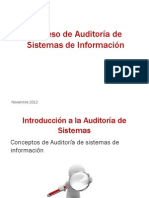 Presentación Auditoría de Sistemas de Información