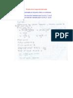 prueba de la segunda derivada