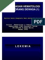 His127 Slide Keganasan Hematologi Pada Orang Dewasa i
