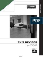 Stanley PhiPL61 Exit Devices S3-Exit Device PL61ED_Final (2)5_12