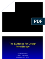 The Evidence for Design From Biology at U of T; Dr. Michael Behe