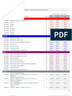 ARIIX Pricelist (US & CA)