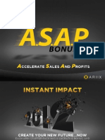 ARIIX ASAP Bonus (North America)