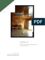 Stretch Ceiling System Newmat Uk Midlands Ltd