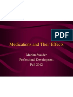 Medications and Their Effects