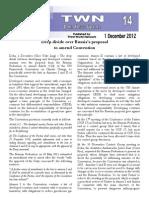 Third World Network – Doha Update #14