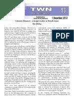 Third World Network – Doha Update #13