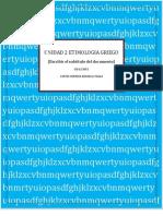 Unidad 2 Etimologia Griego