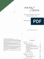 Ezra Pound, James Joyce Pound Joyce the Letters of Ezra Pound to James Joyce, With Pounds Critical Essays and Articles About Joyce 1970