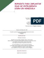 Estudio y Propuesta Para Implantar Una Unidad de Inteligencia Financiera en Venezuela