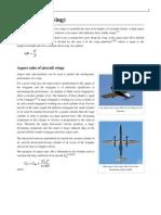 Aspect Ratio (Wing)