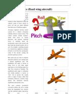 Flight Dynamics (Fixed Wing Aircraft)