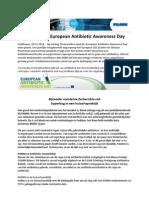 PAMM Nieuwsflits_European Antibiotic Awareness Day 20.11.2012