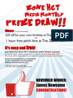 November Social Media Winner