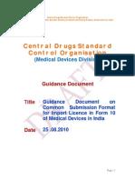 CDSCO Draft guidelines