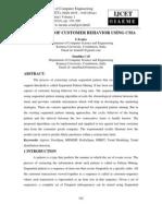 Prediction of Customer Behavior Using Cma