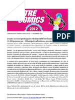 Mestre Comics 2012 - CS conclusivo