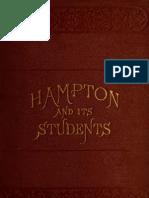 Mary Frances Morgan Armstrong--Hampton and Its Students (1874)