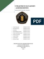 Laporan Praktikum Manajemen Agroekosistem All1