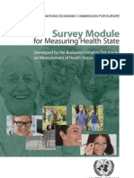 Survey Module for Measuring Health State