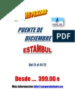 ULTIMAS PLAZAS PUENTE DE DICIEMBRE EN ESTAMBUL