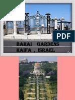 Israel Haifa -Gradina Bahay