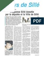 Fréquence Sillé écoutée par la députée de la ville de Sillé