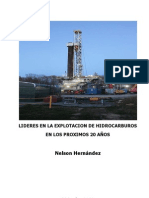 Lideres en la Explotacion de Hidrocarburos en los proximos 20 años