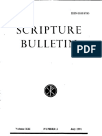 Scripture Bulletin Nr. 2-July 1991