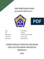 Cover Laporan Praktikum Fisika