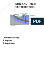 Aquifers and Their Characteristics