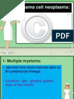 Plasma Cell Neoplasms