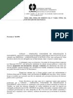 petição de juntada - lista dos processos pagos pela Cursan  - Personal x Cursan