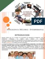 Inteligencia Múltiple - Interpersonal