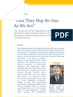 Sergey a. Chursanov-That They May Be One, As We Are-The Significance of the Cappadocian Fathers Trinitarian Comprehension of Divine Persons...-International Journal of Orthodox Theology 2-2-2011