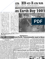 Community Centred Conservation (C3) launched on earth day 2002