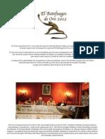 NP Entrega de Premios 2012