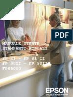 Epson FP Manuale Operatore I