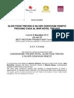 INVITO - Slow Food Trova Casa Al BHR Treviso Hotel