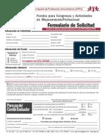Formulario Solicitud 1ra Conv VaC2013