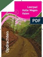 Leerpad Holle Wegen Halen - opdrachen