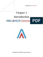 project report on customer satisfaction on reliance communication