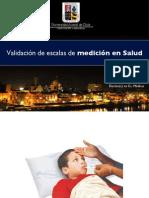 Validacion Escalas Medicion Salud Odontologia Scale Health Validity Measurement Dentistry