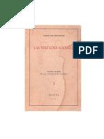 Cayetano Betancur, Las Virtudes Sociales (1964)