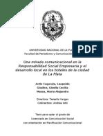 Una Mirada Comunicacional a La Responsabilidad Social Empres
