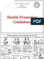 Health Promoion Guideline