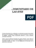 1.Sistema Inmunitario de Las Aves